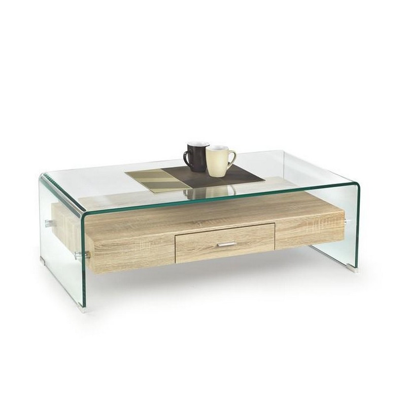 Table haute et basse maison design for Table salon haute