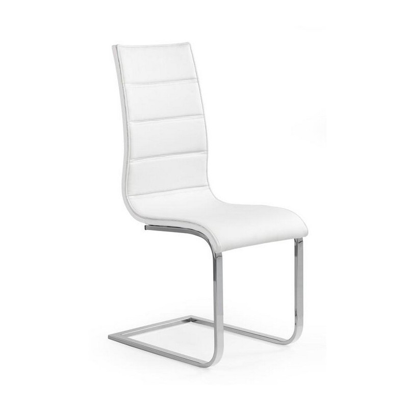 Chaise design luge blanche caloma so inside for Chaise design blanche
