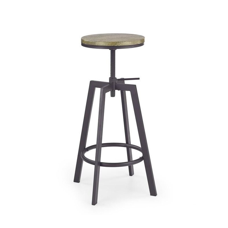 tabouret de bar industriel jersey so inside. Black Bedroom Furniture Sets. Home Design Ideas