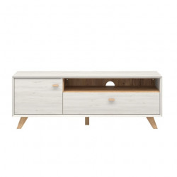 Meuble tv scandinave 141x50x45cm