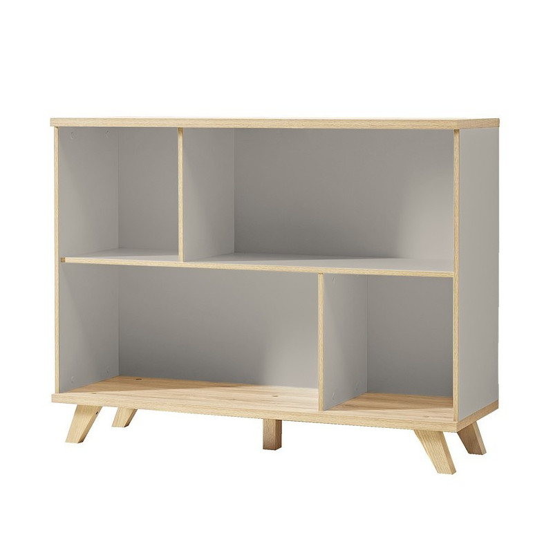 biblioth que basse scandinave elsborg so inside. Black Bedroom Furniture Sets. Home Design Ideas