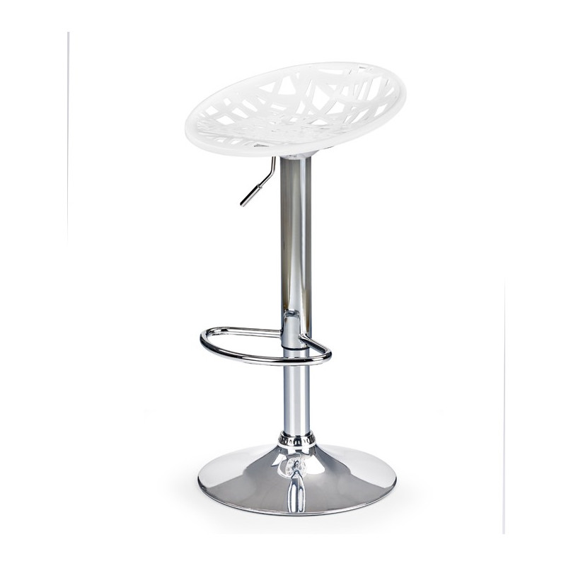 Tabouret de bar design blanc Matrix