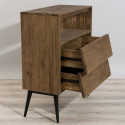 Commode industrielle bois et metal Tinesixe