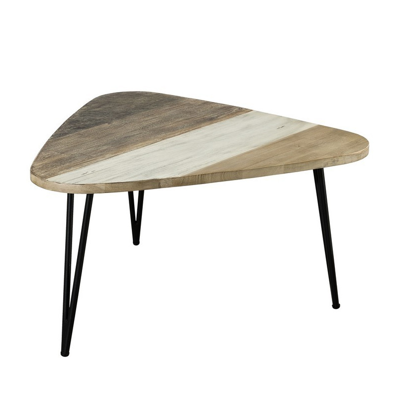 table basse bois massif 85x46 5cm alice so inside. Black Bedroom Furniture Sets. Home Design Ideas