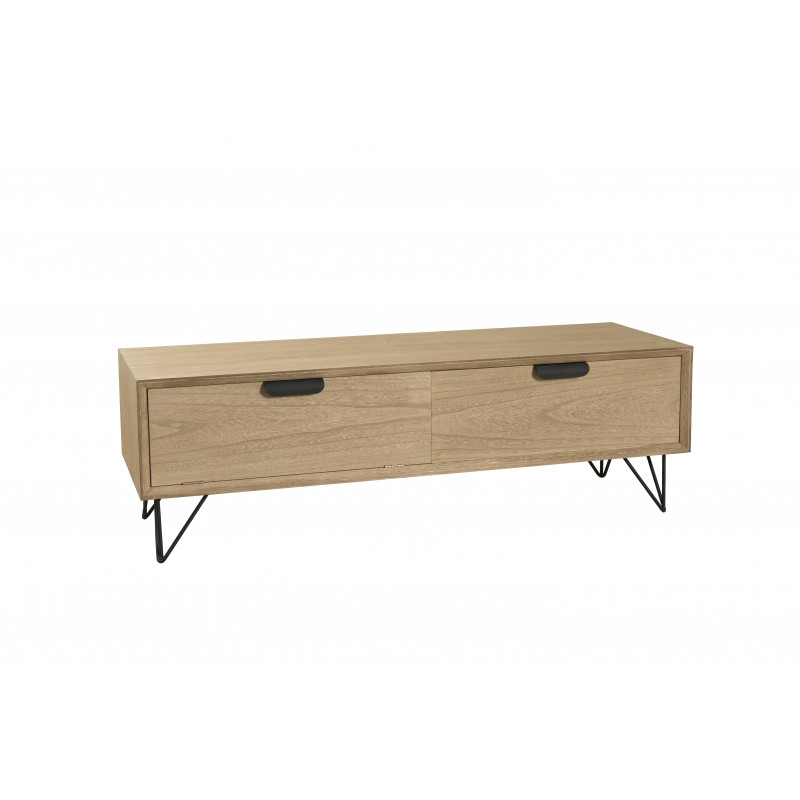 Meuble tv vintage 1 porte 1 tiroir 120cm murgo so inside for Meuble 1 porte 1 tiroir