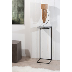 Table d'appoint haute Fer 30x30cm MAGA