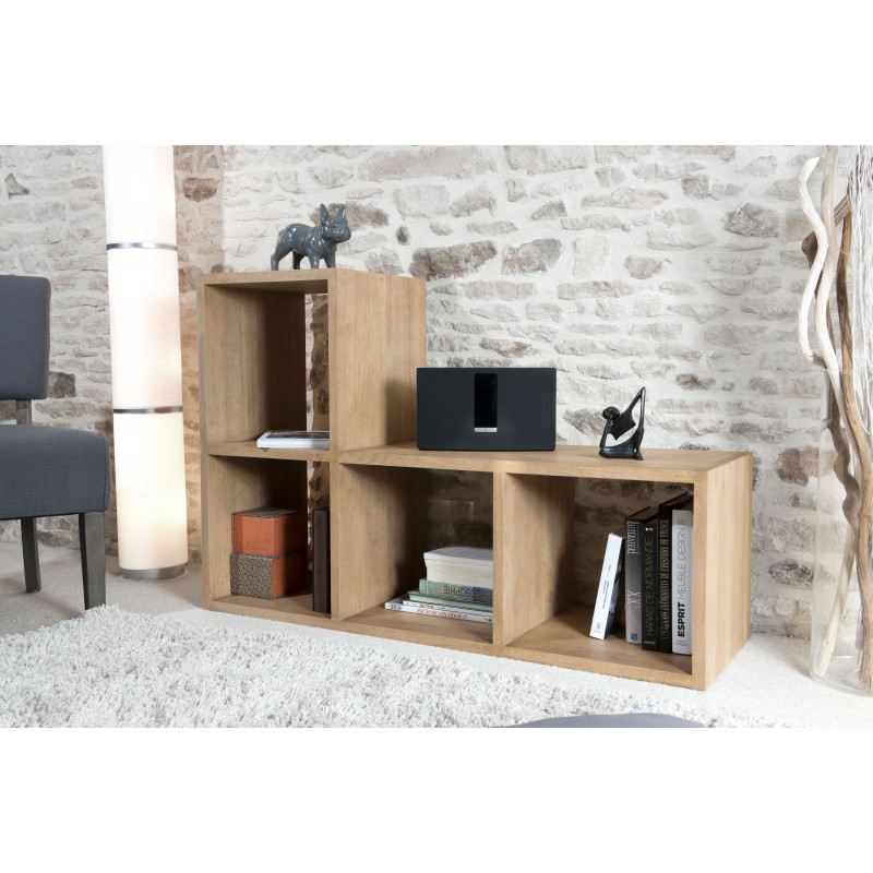 tag re 4 cases en l bois massif h v a jule so inside. Black Bedroom Furniture Sets. Home Design Ideas
