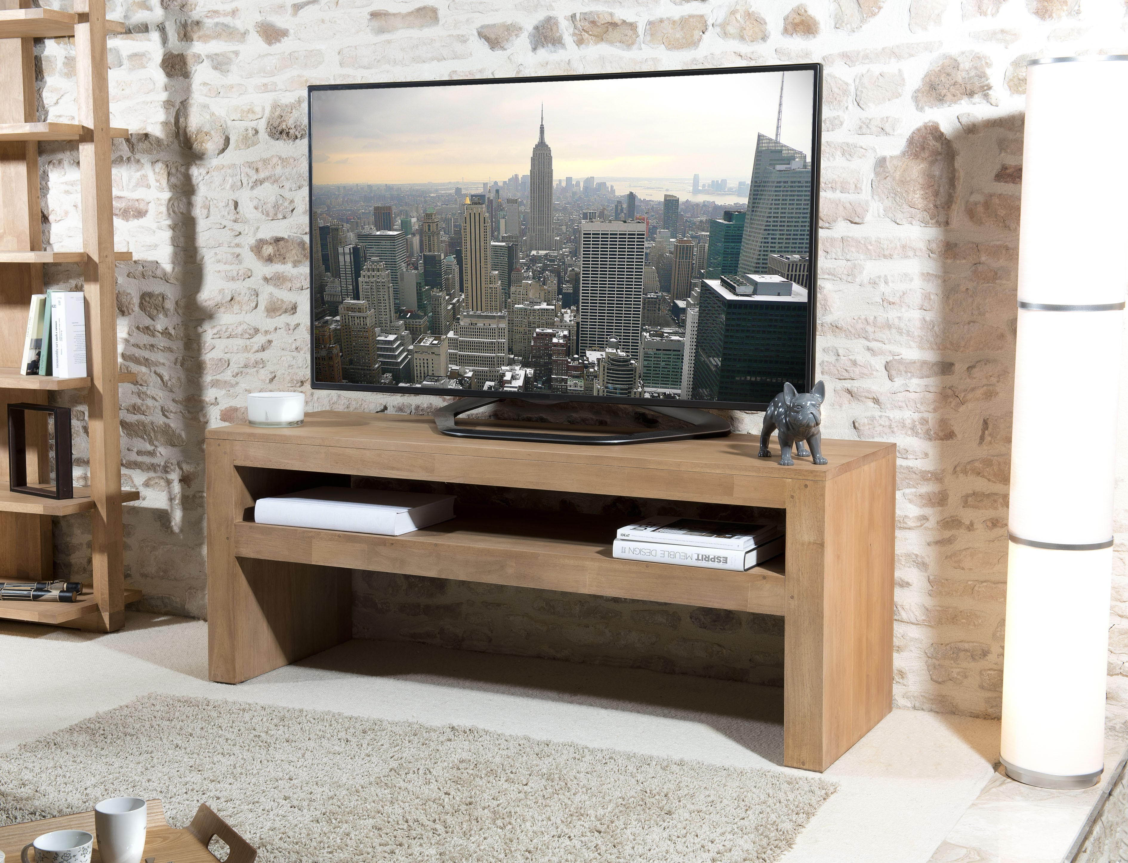 Meuble T L Industriel Multicolore Alto So Inside # Meuble Console Pour Tv