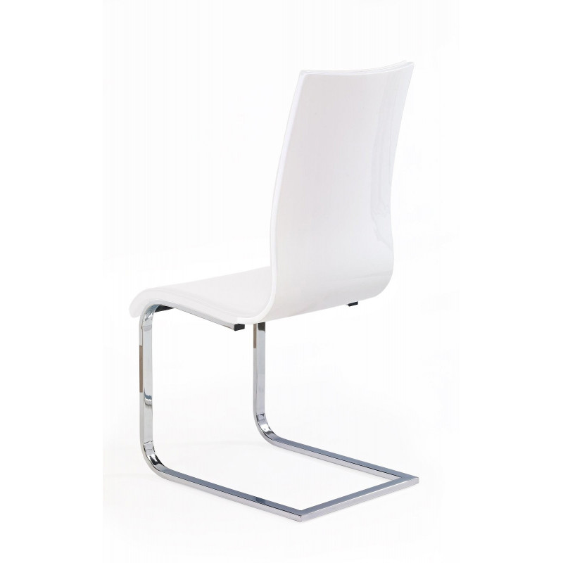 Chaise Design Blanche : Chaise design luge blanche caloma so inside