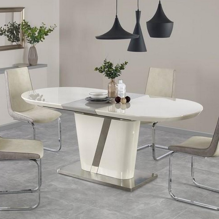 tables ovales avec rallonges beautiful table de salle a manger carree avec rallonge table tres. Black Bedroom Furniture Sets. Home Design Ideas
