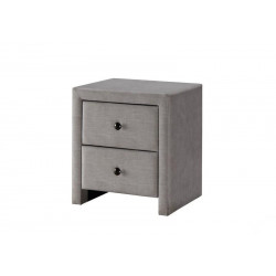 Table de chevet beige Enora