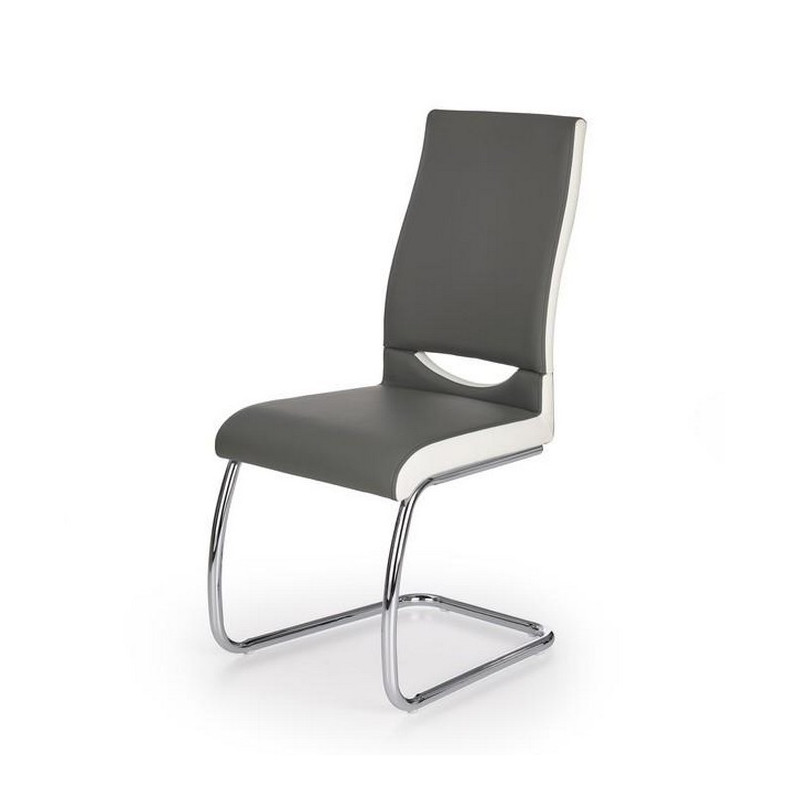 Chaise grise salle manger design olly so inside for Chaise grise de salle a manger