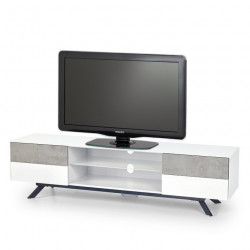 meuble tv scandinave 2 tiroirs 144x40cm malmo. Black Bedroom Furniture Sets. Home Design Ideas
