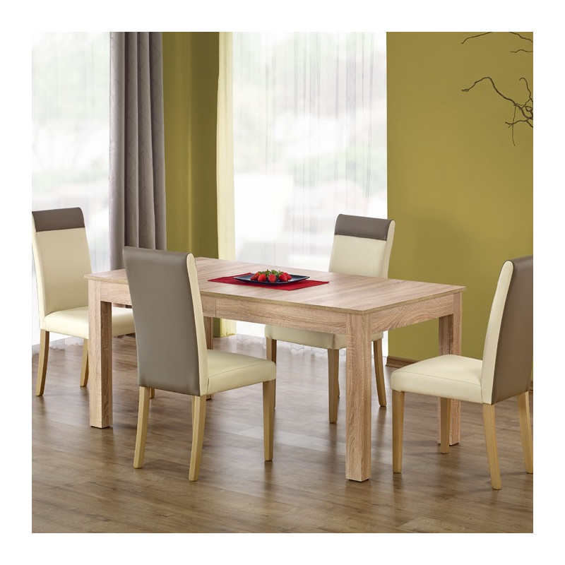 grande table de repas rectangulaire ch ne sonoma aude so inside. Black Bedroom Furniture Sets. Home Design Ideas