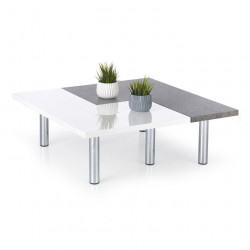 Table basse design en deux parties Mindy