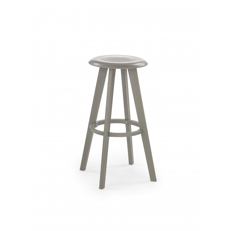 tabouret de bar design gris cuzco so inside. Black Bedroom Furniture Sets. Home Design Ideas