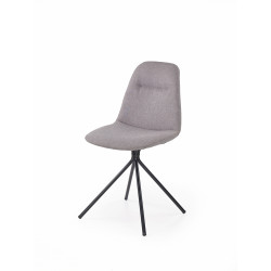Chaise design confort en tissu Alienor