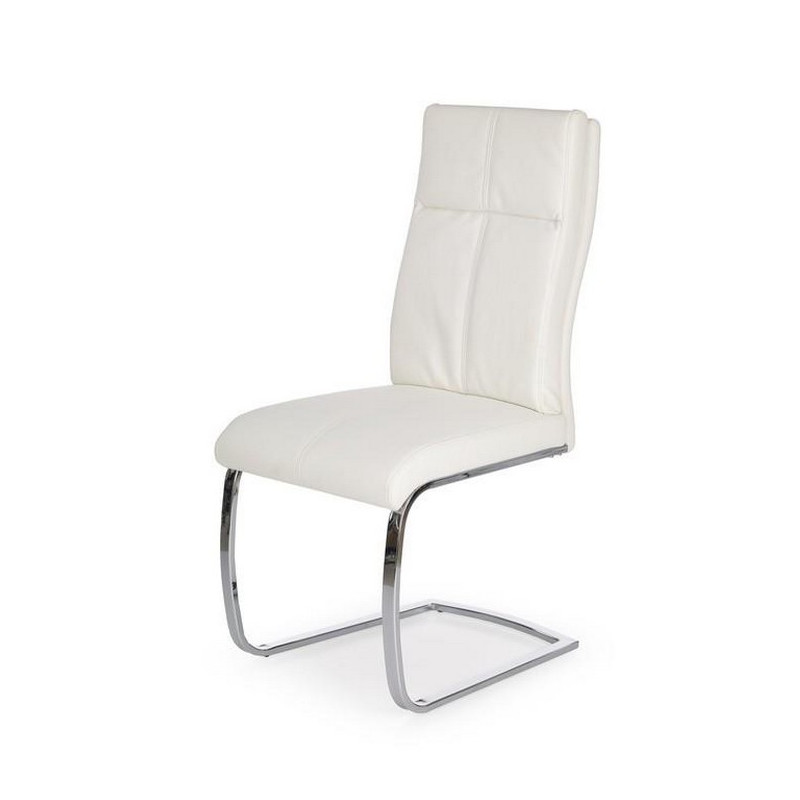 Chaise Design Blanche : Chaise design blanche luge cleo so inside