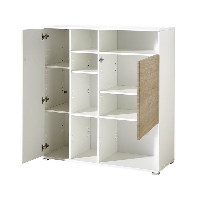 Meuble de rangement bureau design oslo so inside for Bureau meuble design
