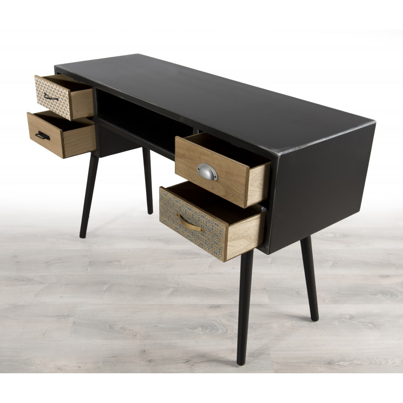 bureau design industriel vintage alta so inside. Black Bedroom Furniture Sets. Home Design Ideas