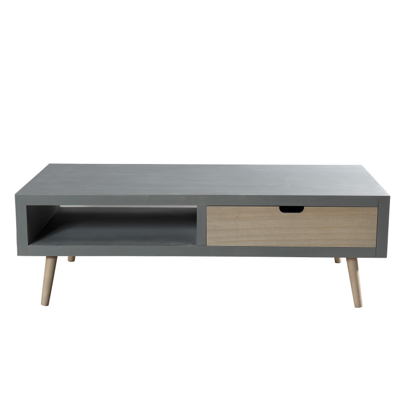 Table basse scandinave effet b ton th a so inside for Table basse salon scandinave