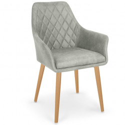 Chaise design scandinave confort Harry