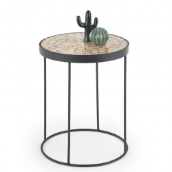 Table d'appoint ronde design Umea