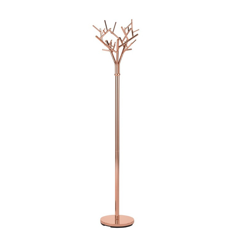 Porte-manteau design arbre cuivre Weston