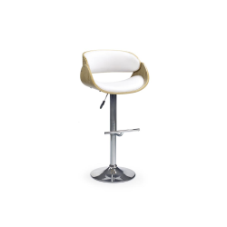 Chaise de bar arrondie design Soizic