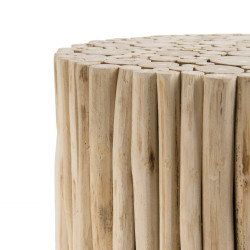 Table d'appoint branches bois 34 cm Woody