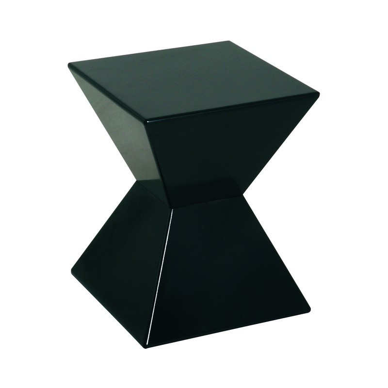bout de canap noir arry tables d 39 appoint design noir et blanc. Black Bedroom Furniture Sets. Home Design Ideas