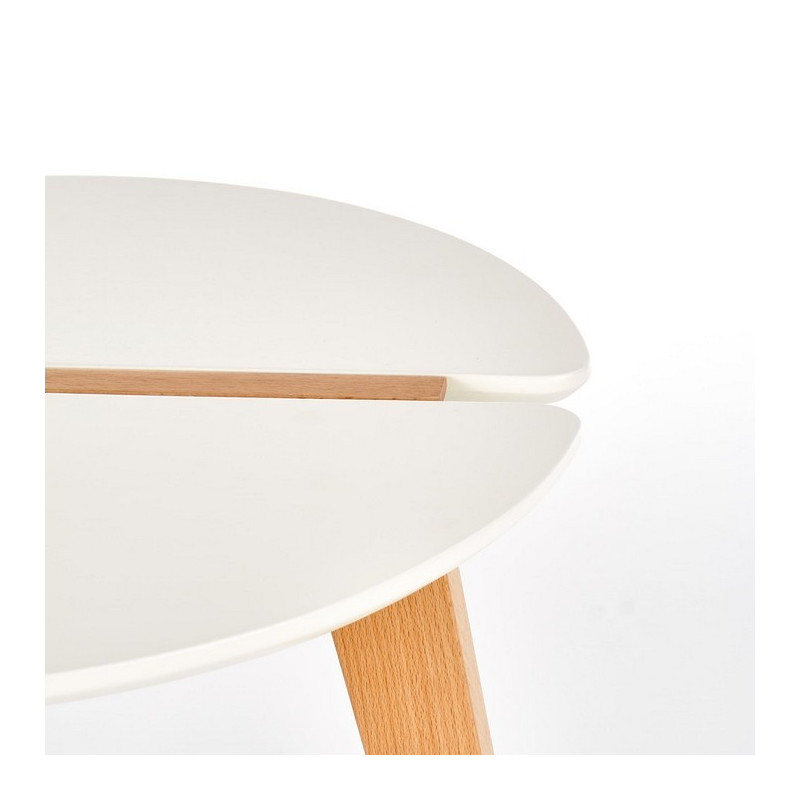 Table d'appoint ronde design Akva