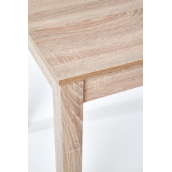 Table aspect chêne 120 cm Baltique