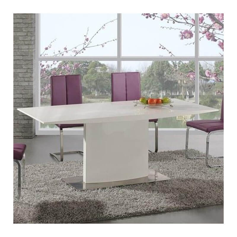Table de salle manger 180 x 90cm salia for Table salle a manger 70 cm de large