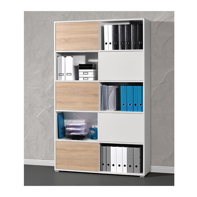 Armoire de bureau blanche leader armoires de bureau for Armoire de bureau but
