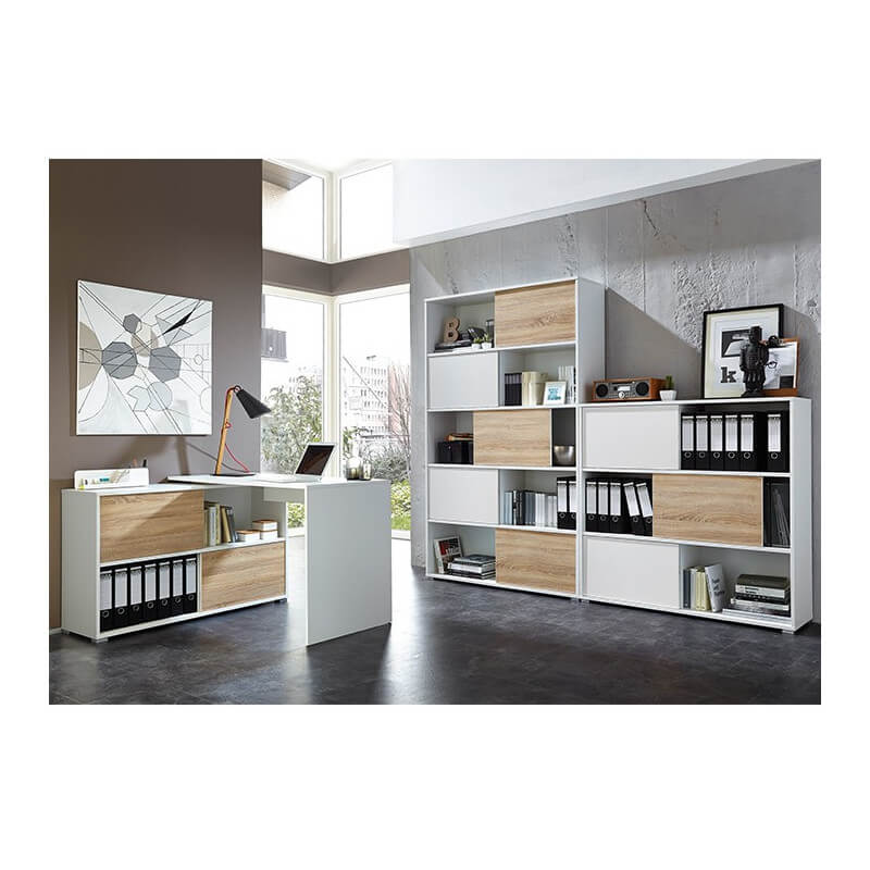 armoire de bureau blanche leader armoires de bureau. Black Bedroom Furniture Sets. Home Design Ideas