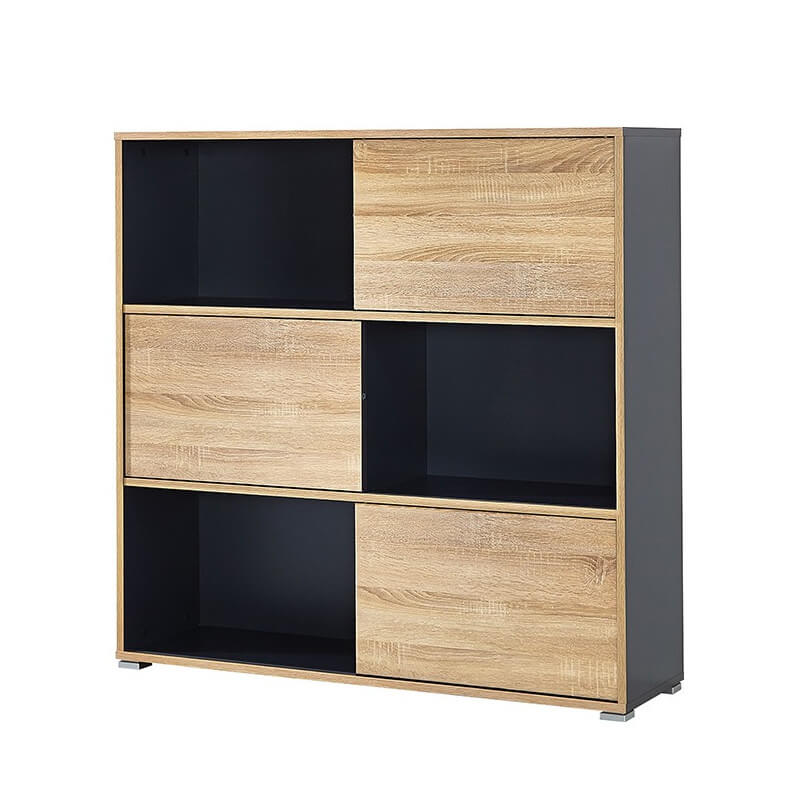 Armoire de bureau basse leader armoires de bureau design for Armoire bureau design