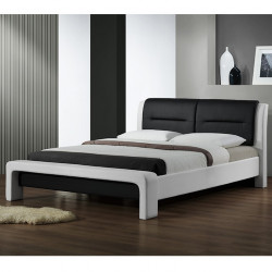 lit 160x200 cm gris avec t te de lit capitonn e et tiroirs. Black Bedroom Furniture Sets. Home Design Ideas