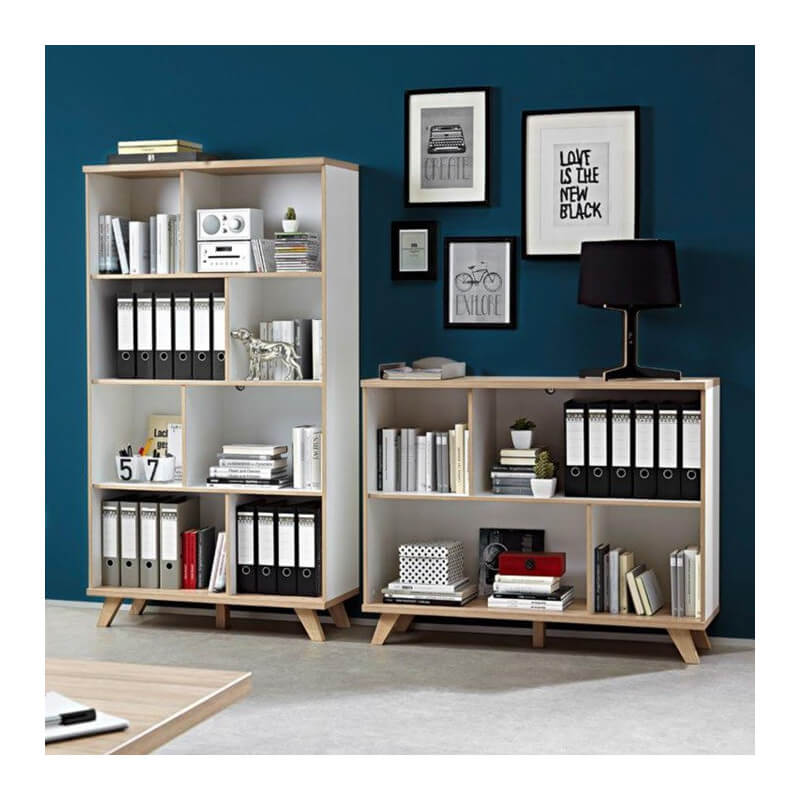 armoire de bureau scandinave malm tag res. Black Bedroom Furniture Sets. Home Design Ideas