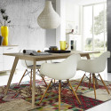 Table scandinave 180x90cm Malmo