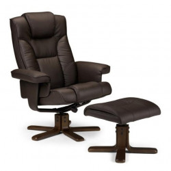 Fauteuil relax avec repose pied Miami